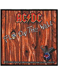 AC / DC Sew-On Patch ON THE FLY WALL Panel 10 x 10 CM by AC/DC