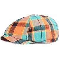 KeepSa Berretto da uomo e donna con 8 pannelli Gatsby Ivy Irish Hat Newsboy Beret Caps