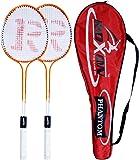 Roxon Phantom JR Polo Double Shaft Badminton Racket Set