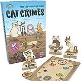 لعبة ThinkFun Cat Crims Brainteaser و Brainteaser للأولاد والبنات من سن 8 سنوات وما فوق - لعبة ذكية ذات موضوع ممتع وأعمال فني