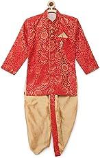 Kidling kids party wear sherwani and dhoti set for boys