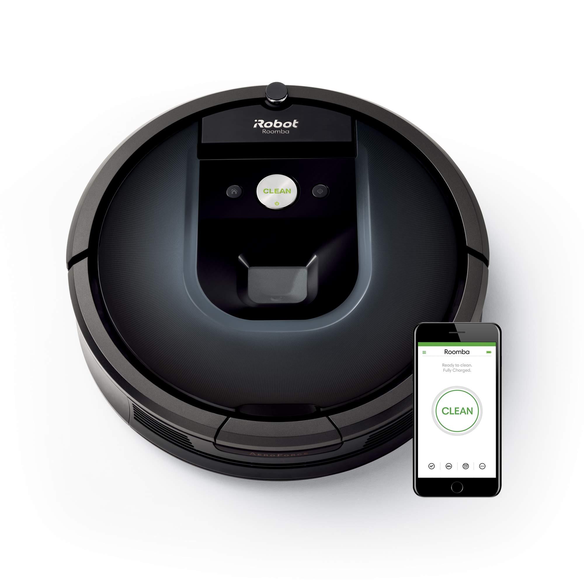 iRobot Roomba 960 plus Braava 390t Wischroboter im Set: Roomba saugt und Braava wischt, hohe Reinigungsleistung auf…