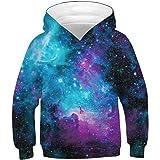 Ocean Plus Niños Sudaderas con Capucha Cool Pullover para Niños Niñas Adolescente Camiseta de Manga Larga
