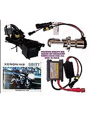 Andride Hid Xenon Kit Bike-Motorcycle-Headlight White 6000K / Hid Xenon Conversion Kit Headlight Lamp Bulbs 6000K for Bikes