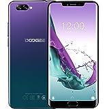 DOOGEE Y7 Plus Android 8,1 4G LTE Smartphone Ohne Vertrag – 6,18 Inch Bildschirm (1080 * 2246 FHD+), MT6757 2,5GHz 6GB + 64GB, Schlankes Elegantes Design, 16MP+13MP, 5080mAh Akku - Aurora blu