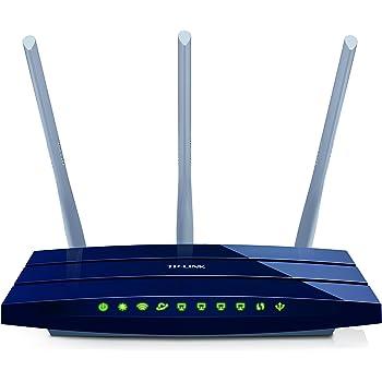 TP-Link Routeur 450Mbps Wi-Fi N en 2.4 GHz, 5 ports Ethernet Gigabit, 1 Port USB 2.0 (TL-WR1043ND)
