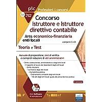 Concorso Istruttore e Istruttore direttivo contabile Area economico-finanziaria enti locali: Manuale di preparazione…