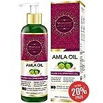 Morpheme Remedies Pure Amla Oil (No Mineral Oil & Paraben) 120ml