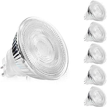 Einbaustrahler aus dickem Glas GU10 GU5.3 MR16 für LED Einbauspot Lampenfassung