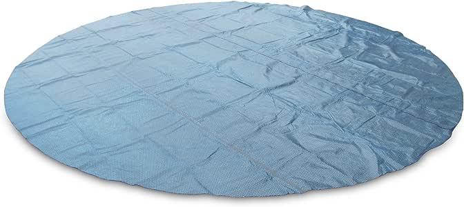 Miganeo/® 400 cm Premium Solarplane schwarz//blau rund Poolheizung f/ür Pool