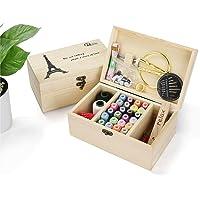 Holzsammlung Kit de Couture, Plus de 110 Fournitures de Couture de Qualité Supérieure, Set de Couture Accessoires de…
