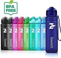ZOUNICH Trinkflasche Kinder Auslaufsichere 1.2L/1L/700ml/500ml-BPA frei trinkflaschen Sport tritan Kunststoff...