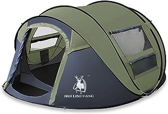 Automatisches Pop-up-Zelt für im Freien kampierende wasserdichte schnell-öffnende Zelte 4 Personen-Überdachung mit der Tragetasche Einfach, durch 290 * 200 * 130CM einzurichten