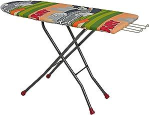 Navraj Heavy Duty Iron Board Folding Table 15 * 45 inches (Color May Varry)
