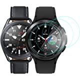CAVN 4Pack Screen Protector Compatible with Samsung Galaxy Watch 4 Classic 46mm/Galaxy Watch 3 45mm, [9H Hardness] [Anti-Scra