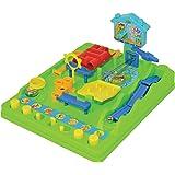 TOMY - Tricky Billie Circuit de Billes T7070, Jeu d'Action pour Enfant, Jeu d'adresse et de Rapidité, Jeu de Billes Multicolo