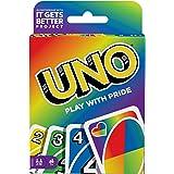 UNO Versione Pride, Gioco di Carte, Giocattolo per Bambini 7+Anni, GTH19