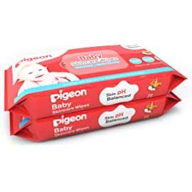 Pigeon Baby Skincare Wipes 72 Sheets Combo  Pack of 2