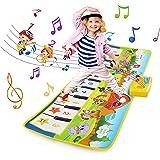 NEWSTYLE Juguetes Niños 2 Años, Alfombra Musical, Grande Alfombra Infantil, Touch Alfombra Musical Teclado, Alfombra de Piano