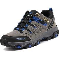 Lvptsh Chaussures de Randonnée pour Hommes Bottes de Randonnée Bottes de Trekking Antidérapantes Bottes d'escalade…