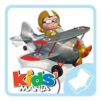 Finn und sein Flugzeug - Kleiner Junge