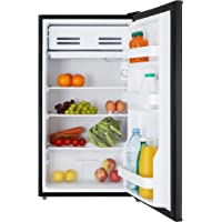 Cookology UCIF93BK Under Counter Freestanding Fridge 47cm wide with chiller box A+ Energy rating (Black)