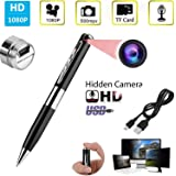 garima electronics HD Spy Pen Hidden with HD Quality Audio/Video Recording,16GB Card Support Spy Camera