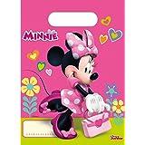 Folat B.V.- Disney Minnie Mouse Bolsas de fiesta, Color rosa (Procos 53826)