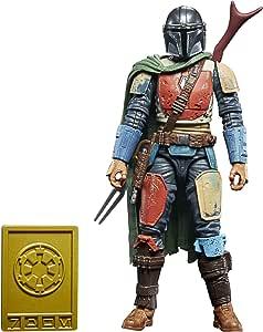 Star Wars The Black Series - Credit Collection - The Mandalorian - Giocattolo personaggio Il Mandaloriano, da 15 cm da collezione - Per bambini dai 4 anni in su
