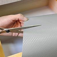 Tapis de tiroir antidérapant et imperméable - Pour tiroirs, étagères, réfrigérateurs, grands formats, peut être découpé…