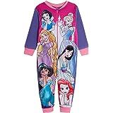 Disney Princess Girls Onesie Ultimate Kids Fleece All in One Pyjamas Pjs Sleepsuit Playsuit Nightwear