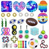 Sensory Fidget Toys Set, Sensory Fidget Toy, Anti-Stress Fidget Toy Set, Relieves Anxiety Fidget Toy Set, Stress Relief for C