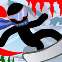stickman games: Stickman Blood and Snow