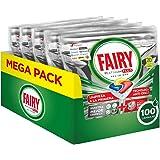 Fairy Platinum Plus - Pastillas para lavavajillas, limón, 100 cápsulas