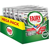 Fairy Platinum Plus Pastiglie Per Lavastoviglie, Limone, 100 Capsule