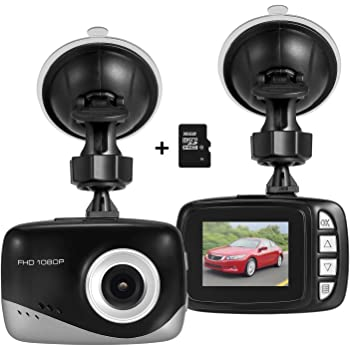 mini auto dash kamera foxcesd fhd 1080p dashboard amazon. Black Bedroom Furniture Sets. Home Design Ideas