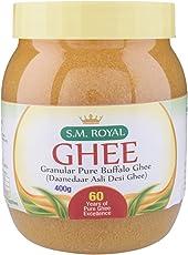 SM Royal Granular Pure Buffalo Ghee 400 Grams