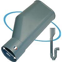 BYMEO, Entonnoir Plastique / Siphon Double Pour Evacuation Machine à Laver / Lave Vaisselle / Lave Linge / Raccord Pour…