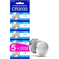 5 x 5Plus Group 2032 CR2032 DL2032 ECR2032 3V Lithium Coin Cell Batteries