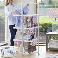 Easylife Heated Airer with timer - XL size | Strong & Sturdy Clothes Indoor Dryer | Rack Includes Electric Heated Rails…