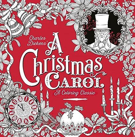 A Christmas Carol: A Coloring