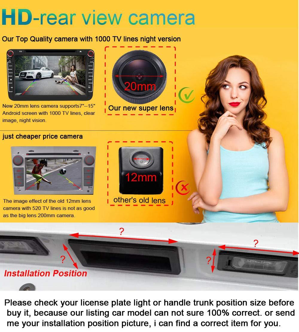 Neues-Objektiv-HD-Farbe-Auto-Rckfahrkamera-170-Super-Weitwinkel-Wasserdichte-Nachtsicht-Car-Camera-frJeep-ChryslerSebringHyundai-Genesis-AvanteMistraJMAccentSonataTerracanTucsonElantra