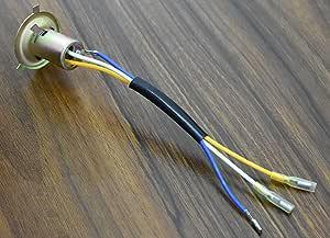 2x Ba20d H6m Fassung Base Sockel Holder 3 Kabel Adapter For Moto Atv Bike Quad Auto