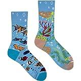 Spox Sox Casual Unisex - des chaussettes colorées coton pour les individualistes - multicolores, drôles, fantaisie, originale