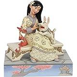 Disney Traditions, Figura de Mulán con Mushu, para coleccionar, Enesco