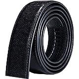 Barry.Wang Designer Belts for Men Nickel-Free Automatic Buckle Alloy Genuine Leather Strap Formal Adjustable