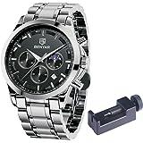 Montre Chronographe pour Homme Mouvement à Quartz Montre de Sport d'affaires de Mode 30M Imperméable La Elegante Cadeau…