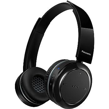 Panasonic RP-BTD5E-K Bluetooth Kopfhörer (Headset, Frequenzgang 18-20.000 Hz, NFC, Tasten an Ohrmuscheln, bis 40 h lange Batterielebensdauer, drehbare Ohrmuscheln) schwarz