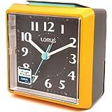 Seiko Alarm Clock (8.5 cm x 8.4 cm x 5.1 cm, Orange, LHE043EN)