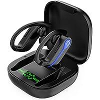Bluetooth Kopfhörer Sport, Bass kopfhörer kabellos In Ear, 40H Spielzeit 5.1Bluetooth Kopfhörer In Ear, IPX7 Wasserdicht…